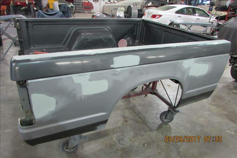 1988 Chevy Truck Bed Body Repair - In Progress (2)