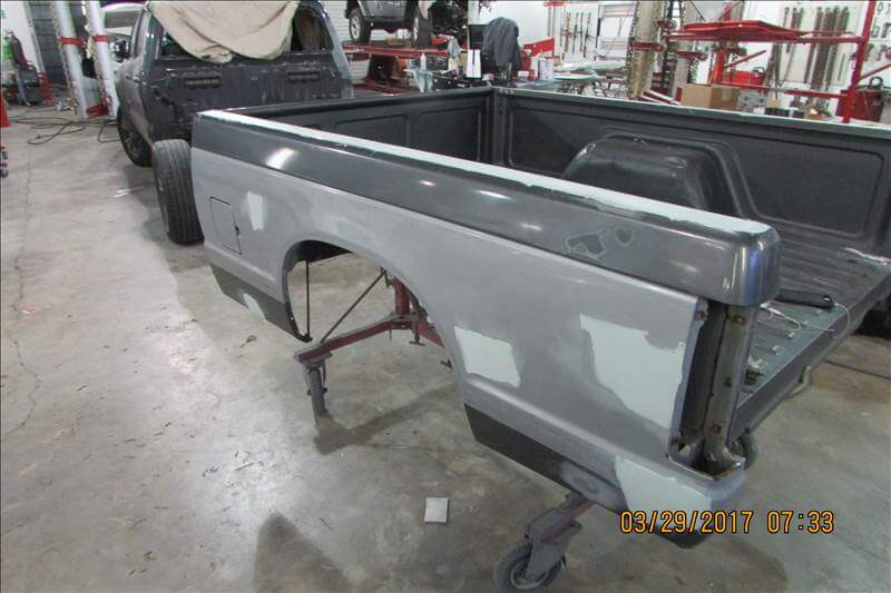 1988 Chevy Truck Bed Body Repair - In Progress (1)