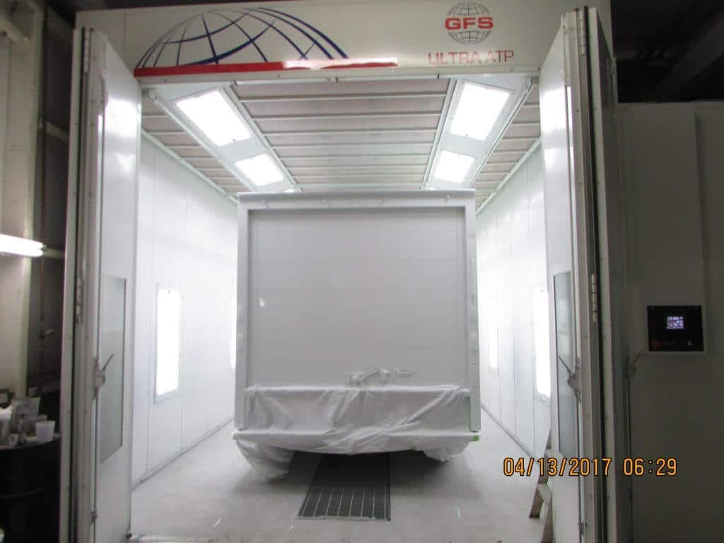 Covered GMC Box Truck - Painting Prep (3)