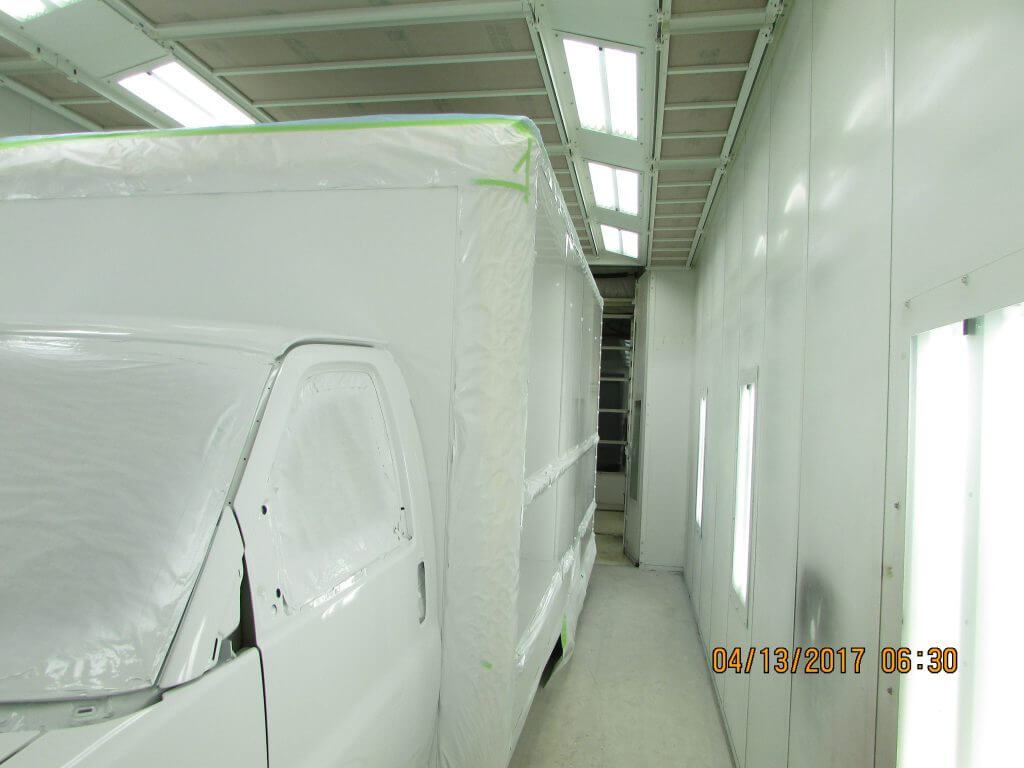 Covered GMC Box Truck - Painting Prep (2)