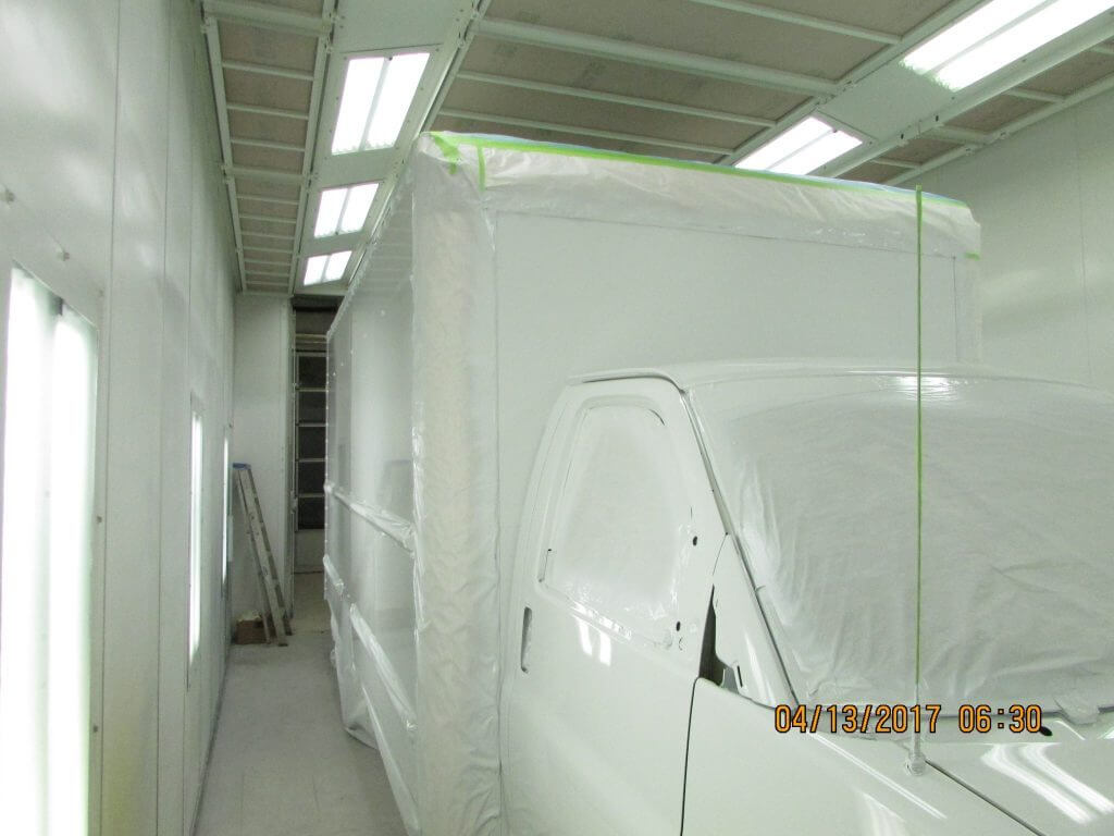 Covered GMC Box Truck - Painting Prep (1)