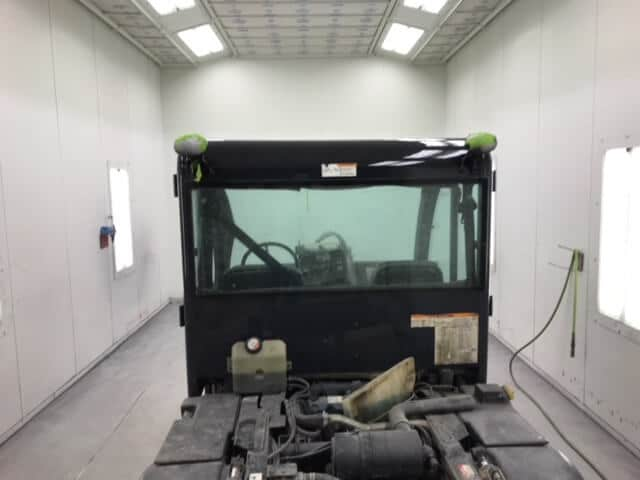 Bobcat Cab - Paint Job In Progress