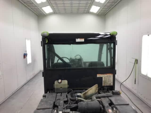 Bobcat Cab - Paint Job In Progress