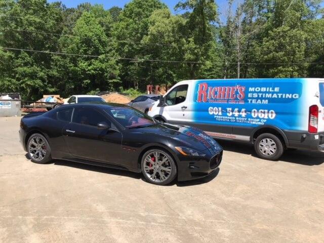 Maserati - Repairs Finished