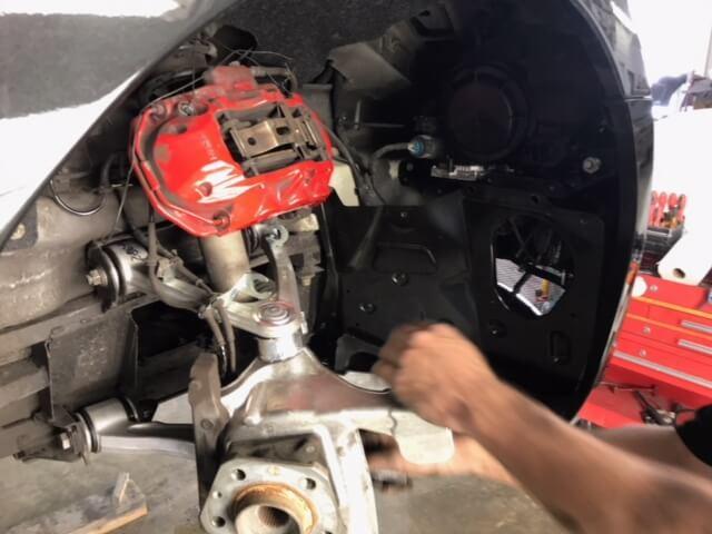 Maserati - Repairs In Progress